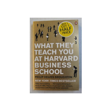 WHAT THEY TEACH YOUU AT HARVARD BUSINESS SCHOOL by PHILIP DELVES BROUGHTON , 2009