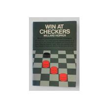 WIN AT CHECKERS by MILLARD HOPPER , 1956,  PREZINTA HALOURI DE APA *