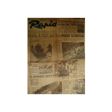 ZIARUL - RAPID, ANUL 1, NR. 3, JOI 25 SEPTEMBRIE 1941