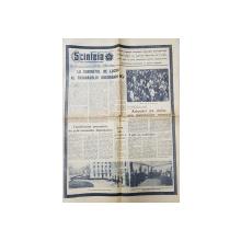 ZIARUL ' SCANTEIA ' , ANUL XXXIV , Nr. 6565 ,  FUNERARIILE LUI GH. GHEORGHIU - DEJ , MARTIE , 1965