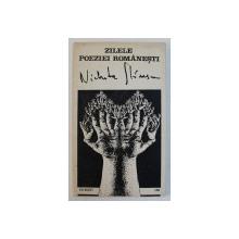 ZILELE POEZIEI ROMANESTI NICHITA STANESCU , PLOIESTI , 1988 , CONTINE AFIS*
