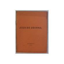 ZIUA DE ODIHNA , 1940