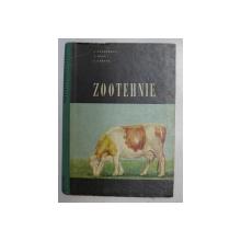 ZOOTEHNIE de I. ANGELESCU , S. RUSU , I. ZABAVA , 1964