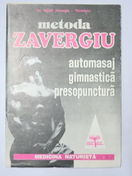 AUTOMASAJ GIMNASTICA PRESOPUNCTURA-MIHAIL ZAVERGIU-THEODORU 1990
