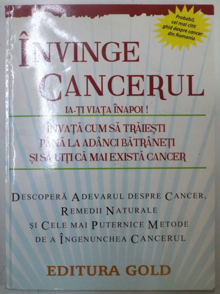 invinge cancerul ia ti viata inapoi)